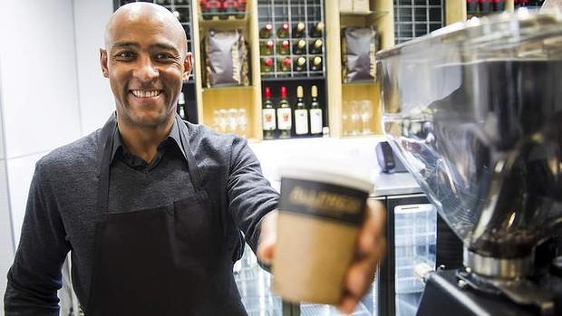 part-time job as barista